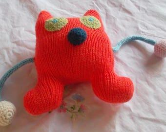 Orange Monster Plushie
