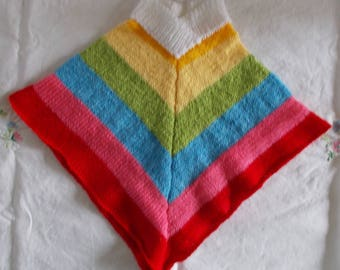 Poncho fun Rainbow 6 months