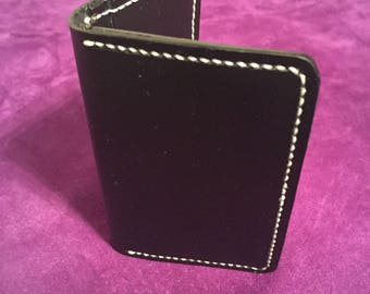 Leather credit card / business card walket
