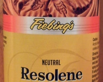 Fiebing's Acrylic Neutral Resolene 32 oz. Leather sealant #300