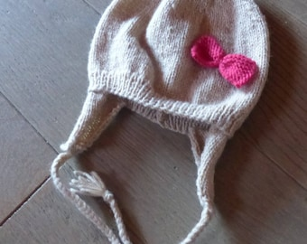 Baby Bootie for baby girl Hat set