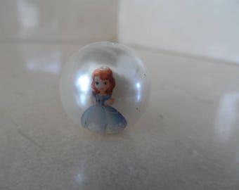 """set of 5 """"Princess Sofia"""" 20mm beads"""