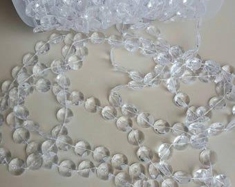 1 meter of Ribbon Garland pendants 11 mm