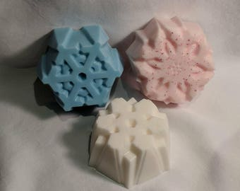 Snowflake Bar Soap