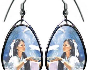 Maiden Native Women earrings