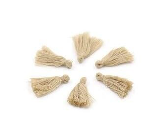 Cotton linen tassel