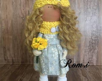 Handmade autumn doll