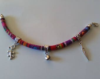 Custom designed ethnic bracelet