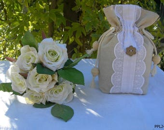 Small pouch of lavender of Provence romantic and shabby chic ref: PP24