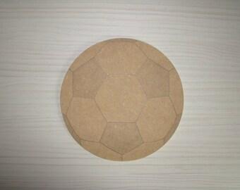 Mdf wooden football door plaque