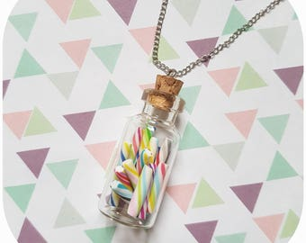 """Greed flask """"candy box (1) necklace"""