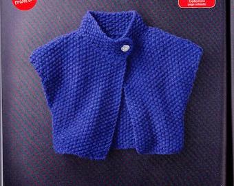 it book bolero knit stitch cat phildar