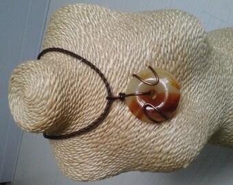 Murano pendant necklace