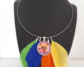 Parrot necklace