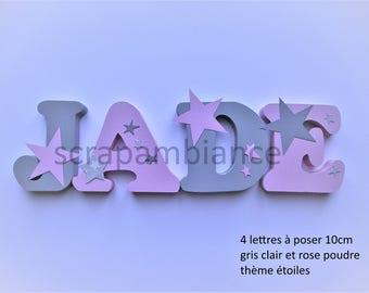 lettre pr nom bois lettre en bois pr nom en bois lettre. Black Bedroom Furniture Sets. Home Design Ideas
