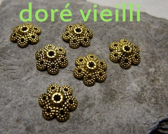 antique 6 cdore of Cup: 10mm, thickness: 3mm, hole: 1.5 mm