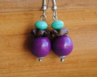 Basic nature earrings