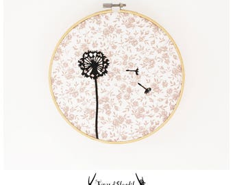 "Wall decor: ""Dandelion"""