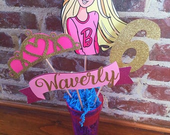 Barbie party Etsy