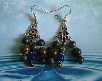 Earrings seabed