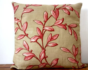 Cushion cover 40 x 40 cm designer cookie/red Baker