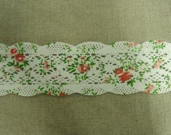 crochet lace 100% cotton 4 cm