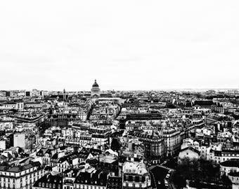 View from the Notre Dame de Paris