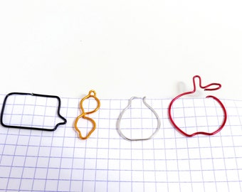 Brand-page/paperclip pattern and color-aluminum