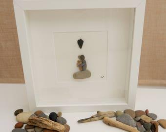 Pebble/Stone Art - 'New Arrival'
