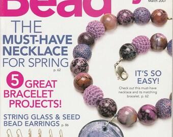Magazine Beadstyle Magazine March 2007 (volume 5 issue 2)