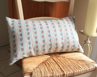 Vintage floral pattern bolster Cushion cover