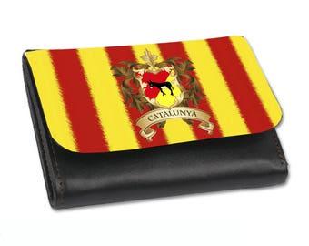 Faux leather portfolio catalan style size M