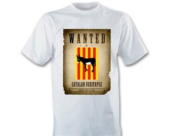 Catalan style white T-shirt