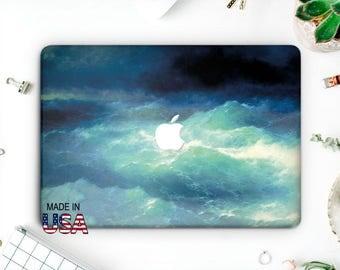 Sea Macbook Pro Case Nature Laptop Case Macbook Hard Case Macbook Air Marble Macbook Air 13 Blue Wave Macbook  Macbook Pro 2016 AMM2015