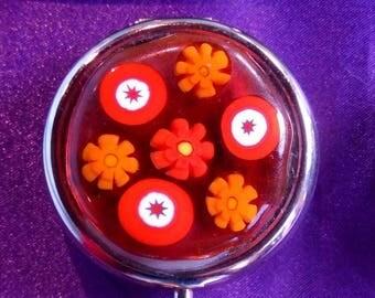 """Ouarzazate"" fused glass Pocket ashtray"