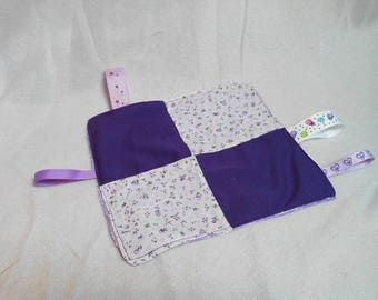 Taggy purple with purple flowers