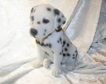 Dalmatian puppy figurine