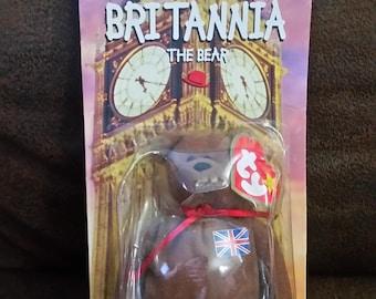 ty Britannia the Bear - 1997