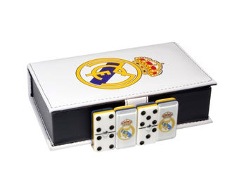 Real Madrid Domino 100% Acrylic, Faux Leather Case