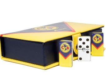 Aguilas Club América Domino 100% Acrylic, Faux Leather Case