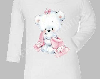 GIRL TEDDY BEAR BODYSUIT