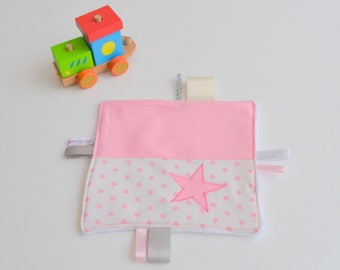 Taggy handmade pink and white @lacouturebytitia stars