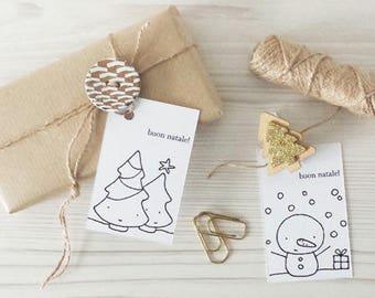 """""""Merry Christmas"""" gift Tag"""