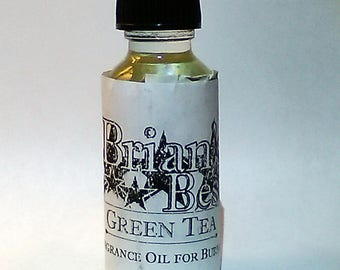 Green Tea Scented Incense or Fragrance Oil Formulated for Burners or Warmers - Premium Grade & Quality!