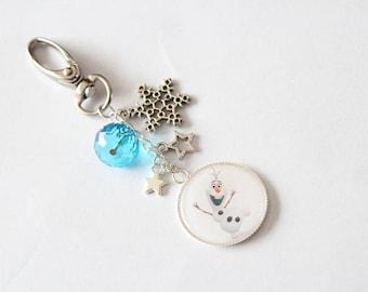 Keychain grigri OLAF (frozen)