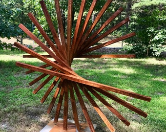 Large Modern One of a Kind Sculpture