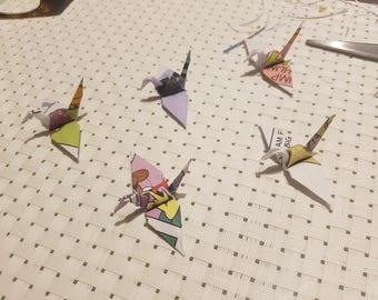 Garfield Origami Cranes