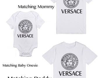 Matching Family T-Shirts | 1st Birthday Party Keepsake | Designer Inspired | Custom Shirt