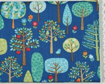 "Fabric - ""Jolly farm"" - Makower 06"