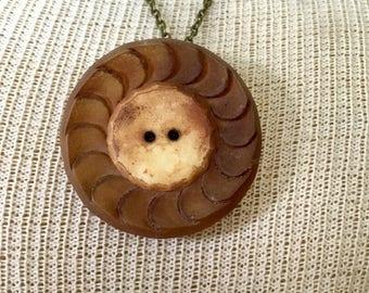 Artifact Celluloid Ladies Coat Button